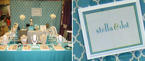 Stella and Dot Tradeshow Booth