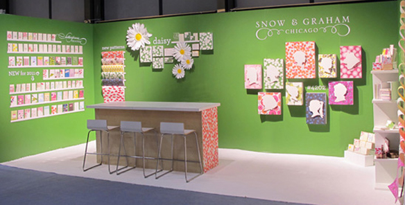 Snow And Graham Trade Show Booth Javits Center For The New York International Gift Fair
