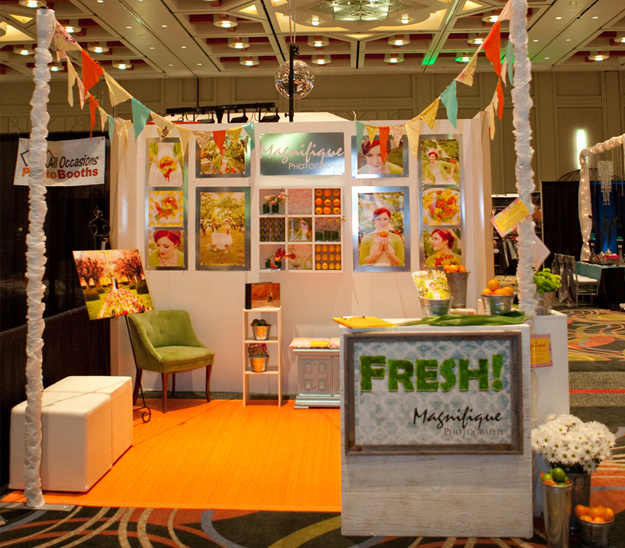 Trade show inspiration magnifique photography for Stand salon original