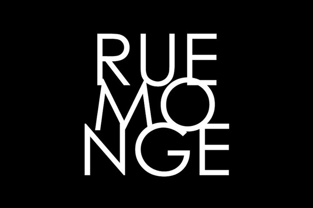 Rue Monge Logo by Your Marketing BFF