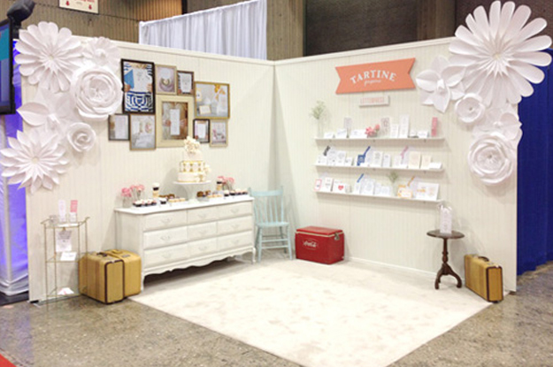 Trade Show Inspiration Tartine Paperie DIY Giant Paper