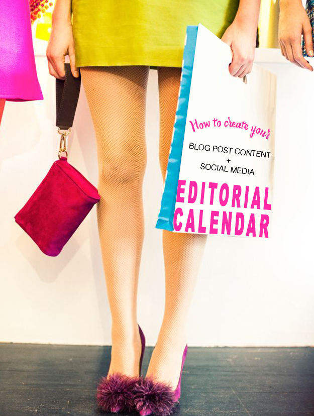 How to Create Your Blog Content and Social Media Editorial Calendar