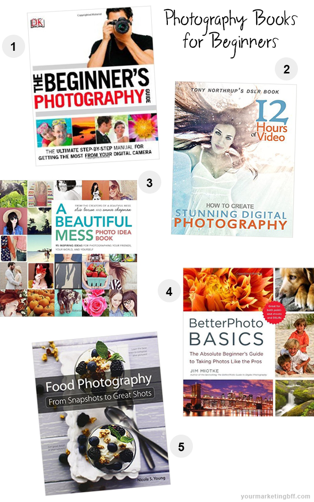 5 Great Beginner Photography Books for Christmas Gifts