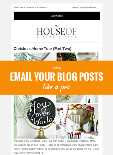 How to email your blog posts like a pro