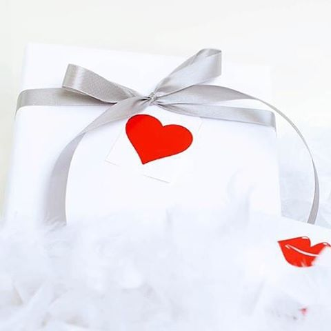 Weve created some fun modern Valentines Day gift wraps andhellip