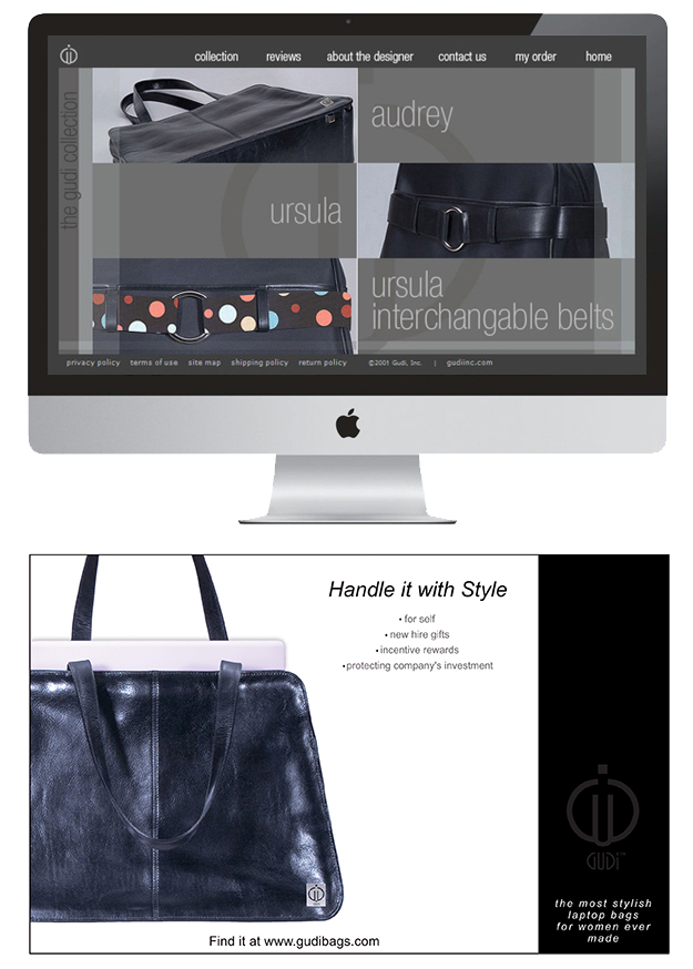 How To Create A Tagline Gudi Bags Example