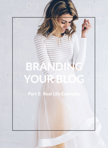 Branding Your Blog – Part 3: Real Life Examples