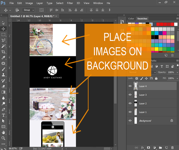 Long Pin image creation - add images