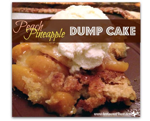 Peach Pineapple Dump Cake Old Post Image