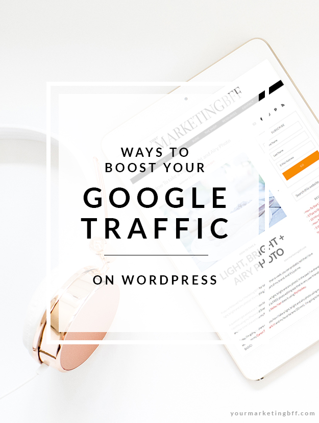 Learn the 5 Ways To Boost Your Google Traffic on WordPress