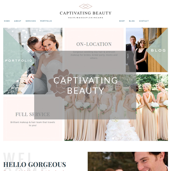 Your Marketing BFF Client Project-Captivating Beauty