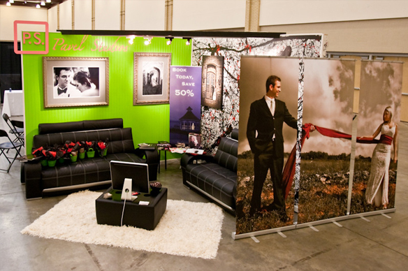 Exhibition Booth Photography : Booth display} p.s. how to create a winner! yourmarketingbff.com