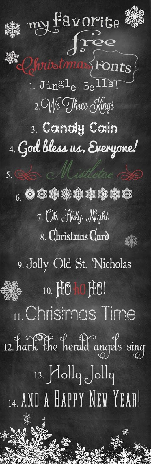 {Random} Free Christmas Fonts