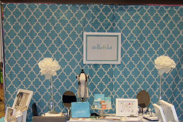 {DIY} Trade Show Booth Custom Drape