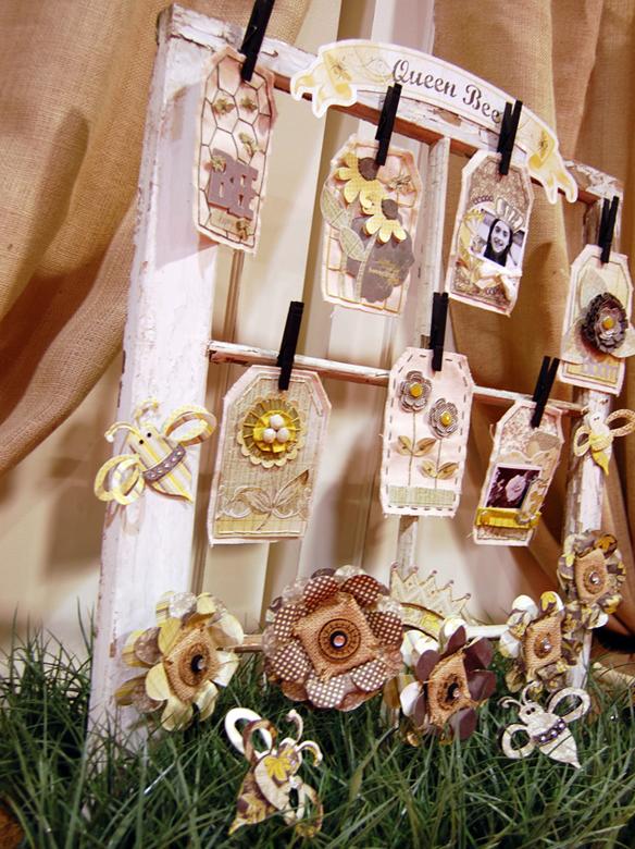 Queen Bee Display