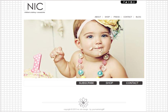 NIC Semi-Custom Site Design :: New to the Shop