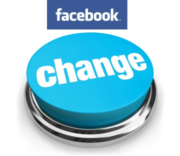 Facebook just changed things again!!!