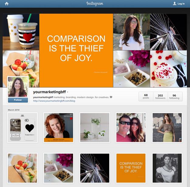 Your Marketing BFF Instagram
