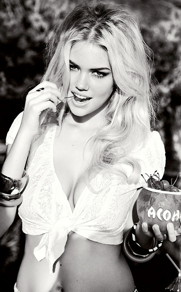 Kate Upton Spring 2011 Guess Campaign