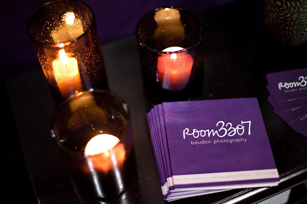 Room 3307 Boudoir Photography Booth Handouts