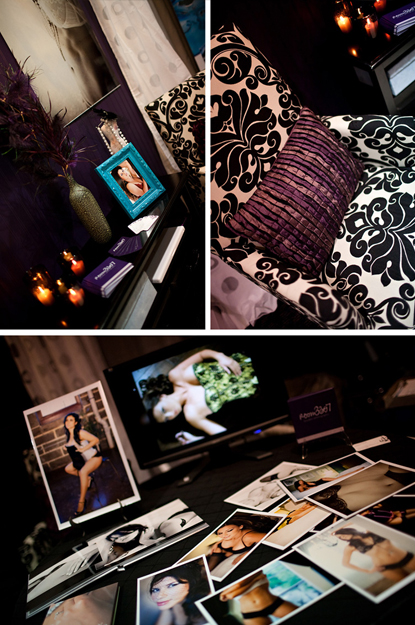 Room 3307 Boudoir Photography Booth details 2