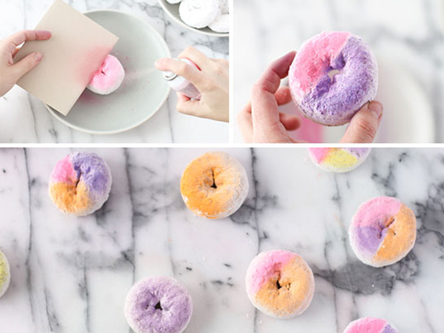 {Marketing under $50} DIY Colorful Donut Favors and Gifts