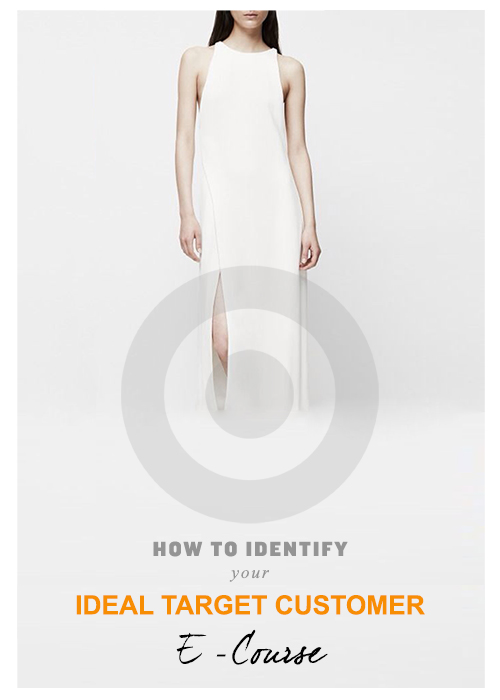How to identify your ideal target customer ecourse