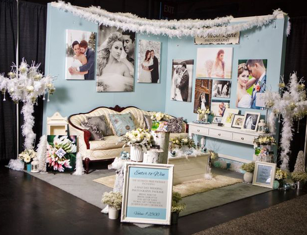 Willow Lane Photography Bridal Fantasy Show Booth January 2013