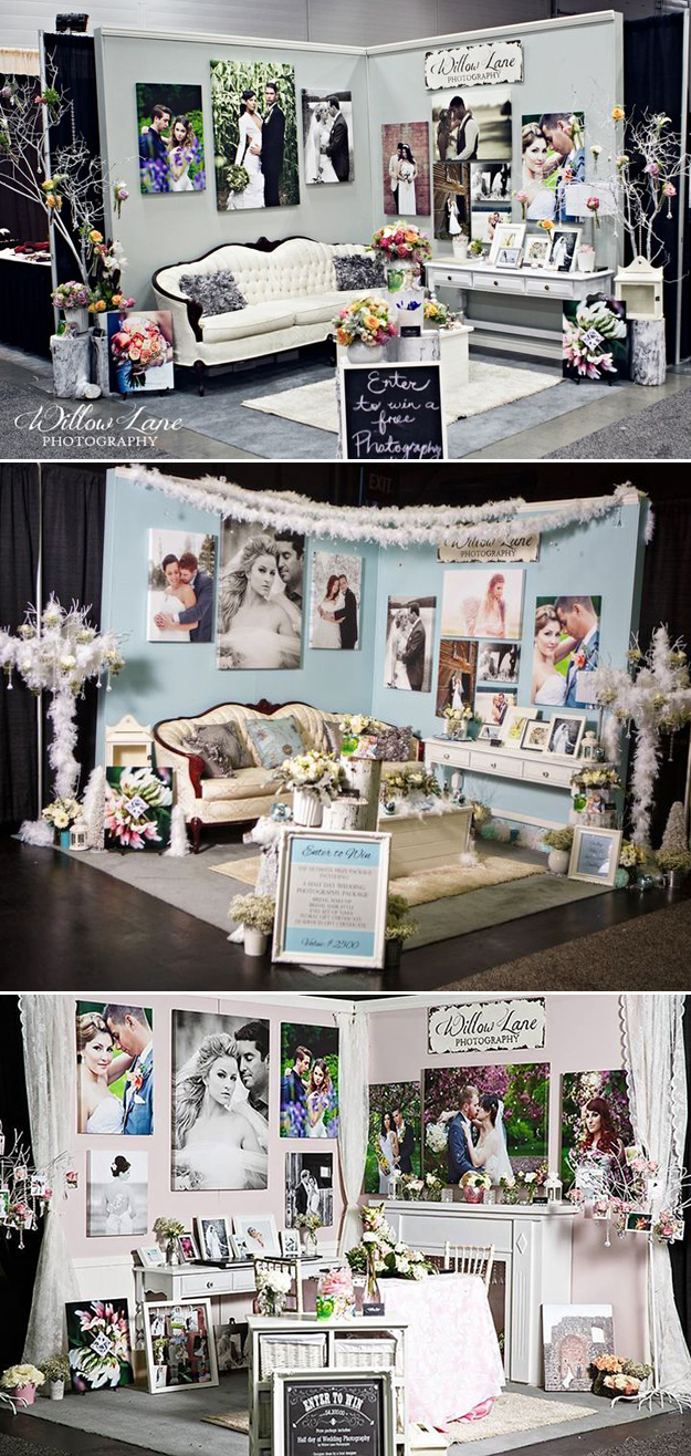 Willow Lane Photography Trade Show Booth Designs