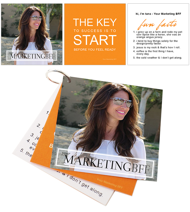Your Marketing BFF business card_Tiny Prints