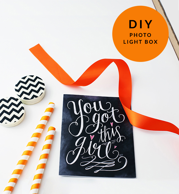 DIY Photo Light Box – for Fab Product Shots