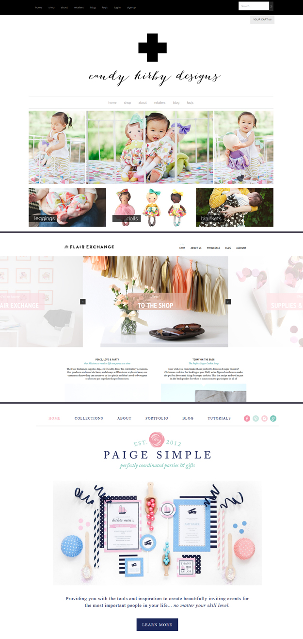 Candy Kirby Designs The Flair Exchange Paige Simple