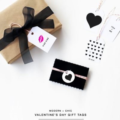 Free Printable: Valentine's Day Gift Tags