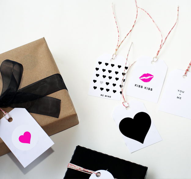 Valentines Day Gift Tag Printable by Your Marketing BFF