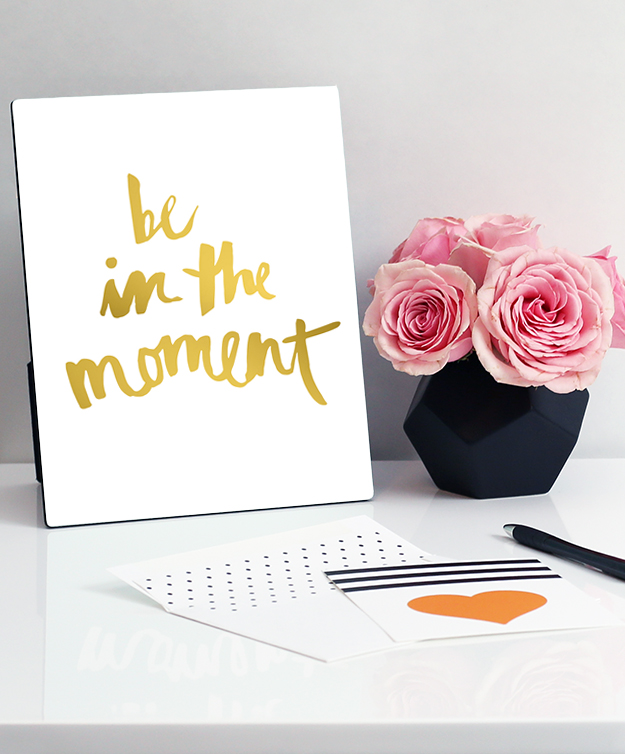 Be In The Moment - Gold