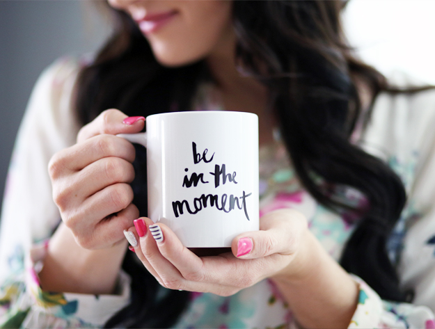 Coffee Mug - Be In The Moment - Black