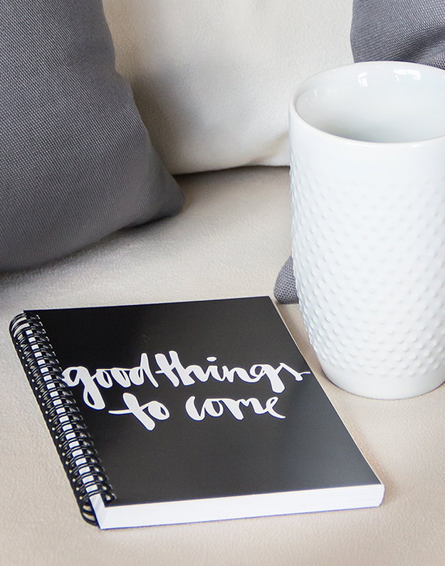 Good Things To Come notebook