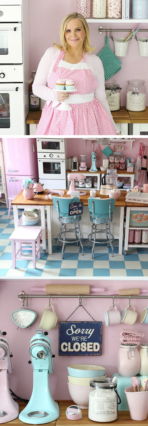 Passion For Baking kitchen