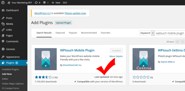 Mobile Friendly WordPress Plugin