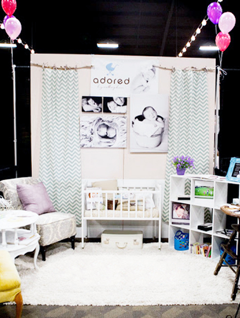 Trade Show Booth Inspiration: Adored Photography
