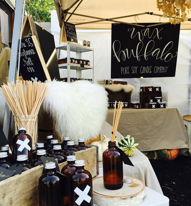 wax buffalo boutique event craft show booth space
