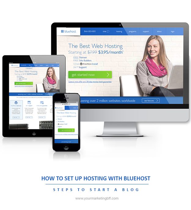 How To Set Up Hosting With Bluehost
