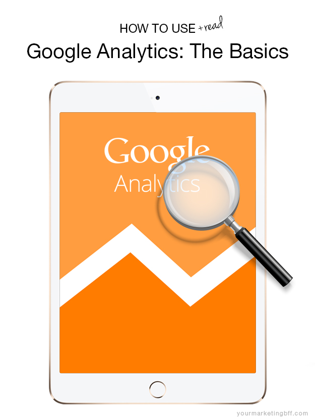 How To Use Google Analytics the basics