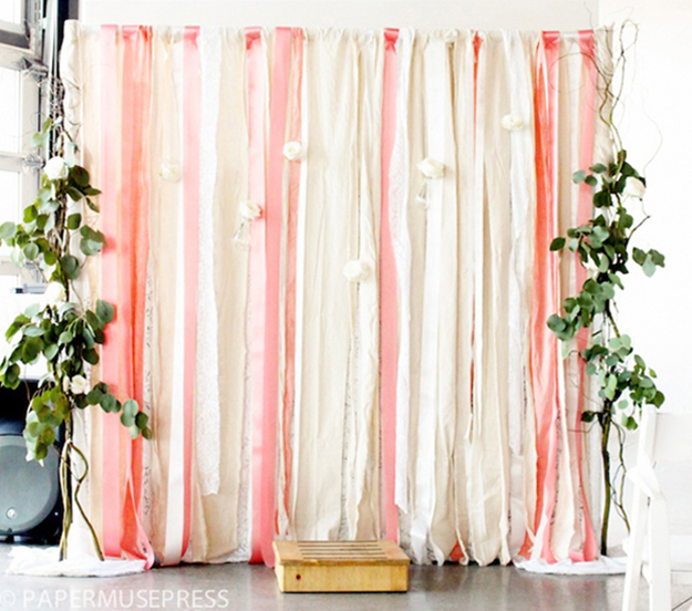 DIY-fabric-and-ribbon-backdrop