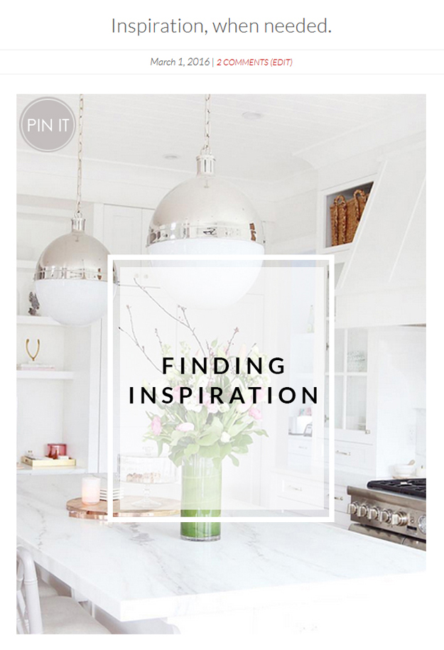 Pin blog post images to Pinterest