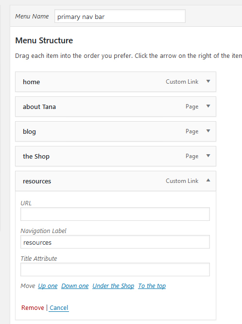 How To Create Dropdown Custom Link Pages in WordPress