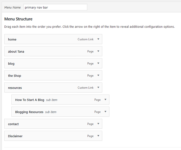 How To Create Dropdown Pages in WordPress 3