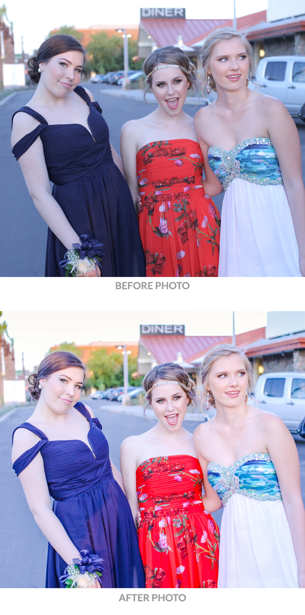 How to take a light bright and airy photo-before after