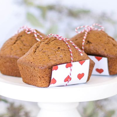 Valentine's Day Gifts: Yummy Banana Bread recipe by Great Grandma Devorchek