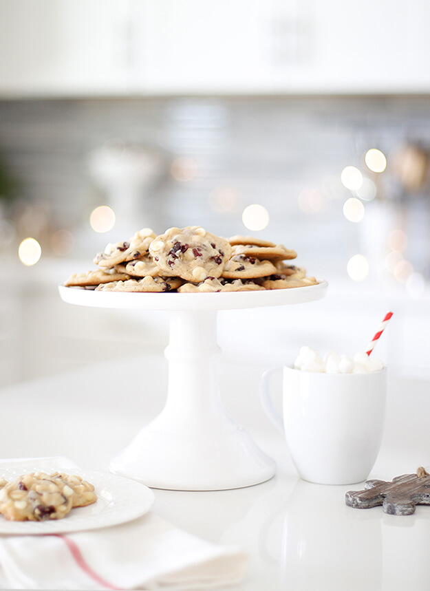 Cranberry White Chocolate Chip Christmas Cookie Exchange Recipe